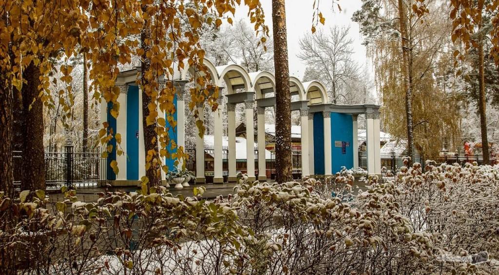 Ковровский парк в октябре