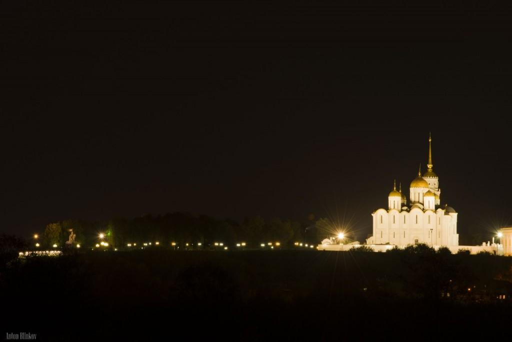 Красивый ночной Владимир