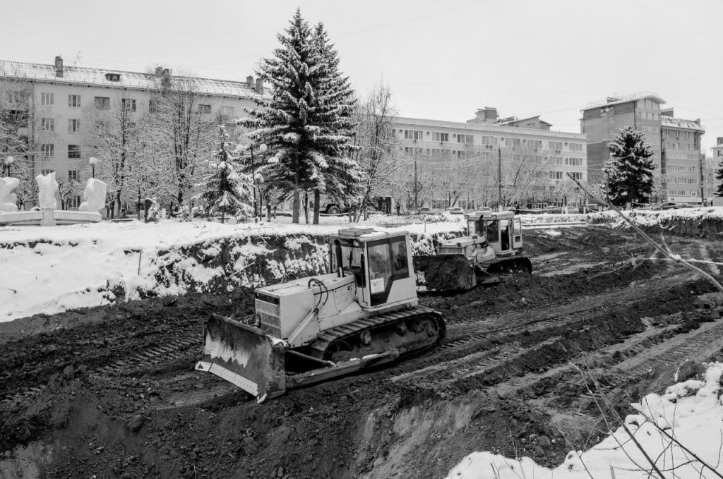 Лыбедская магистраль, Владимир (Зима-лето) 01