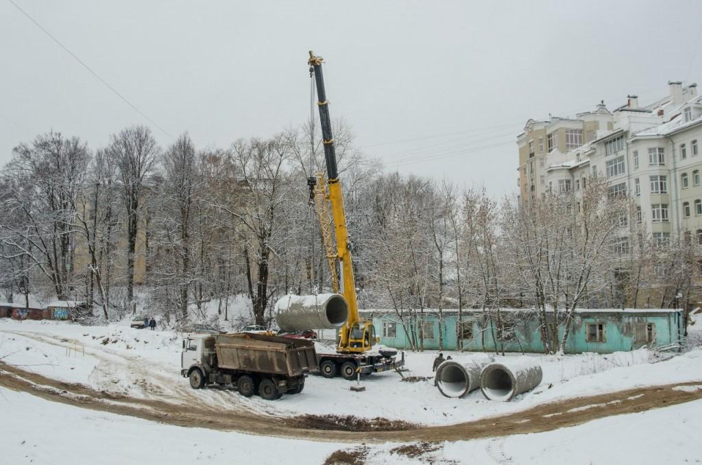 Лыбедская магистраль, Владимир (Зима-лето) 07