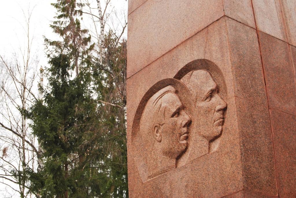Мемориал на месте гибели Ю. Гагарина 01
