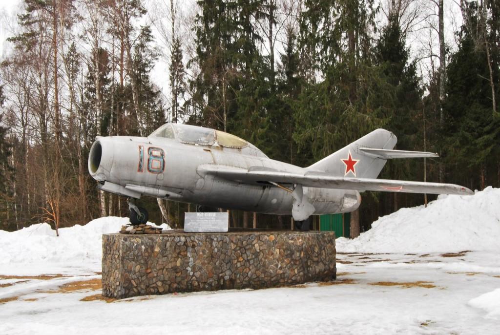 Мемориал на месте гибели Ю. Гагарина 04