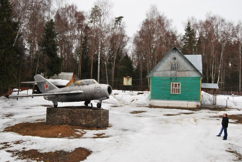 Мемориал на месте гибели Ю. Гагарина 06