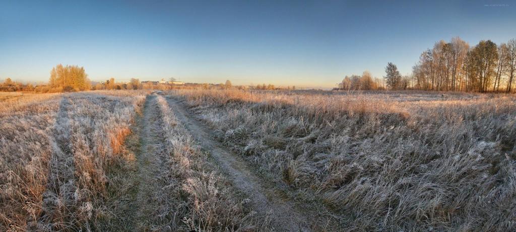 Морозное владимирское утро