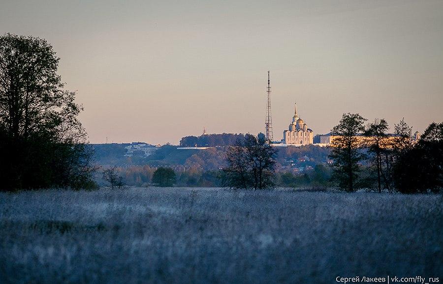 Морозное утро в Клязьменской пойме 01