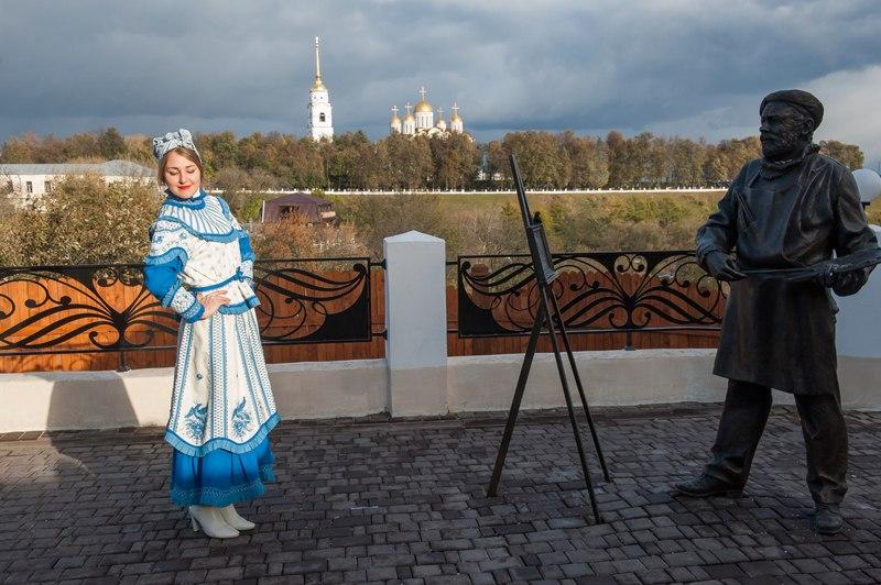 Музейные находки осенью на пешеходке (Владимир) 05