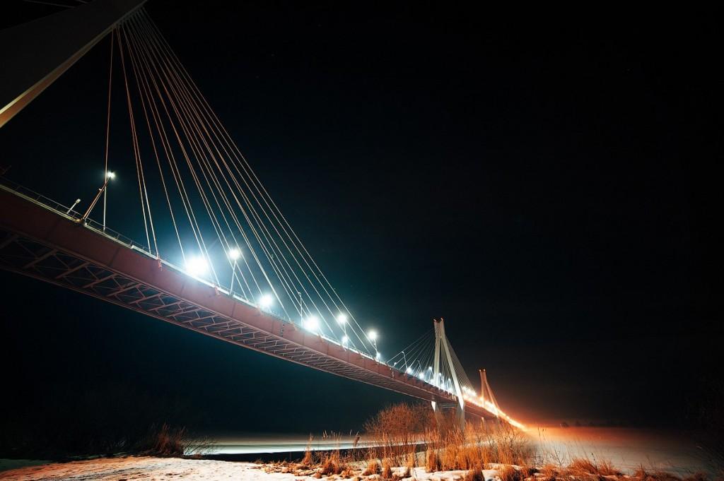 Муромский мост в ночи от Димы Попова