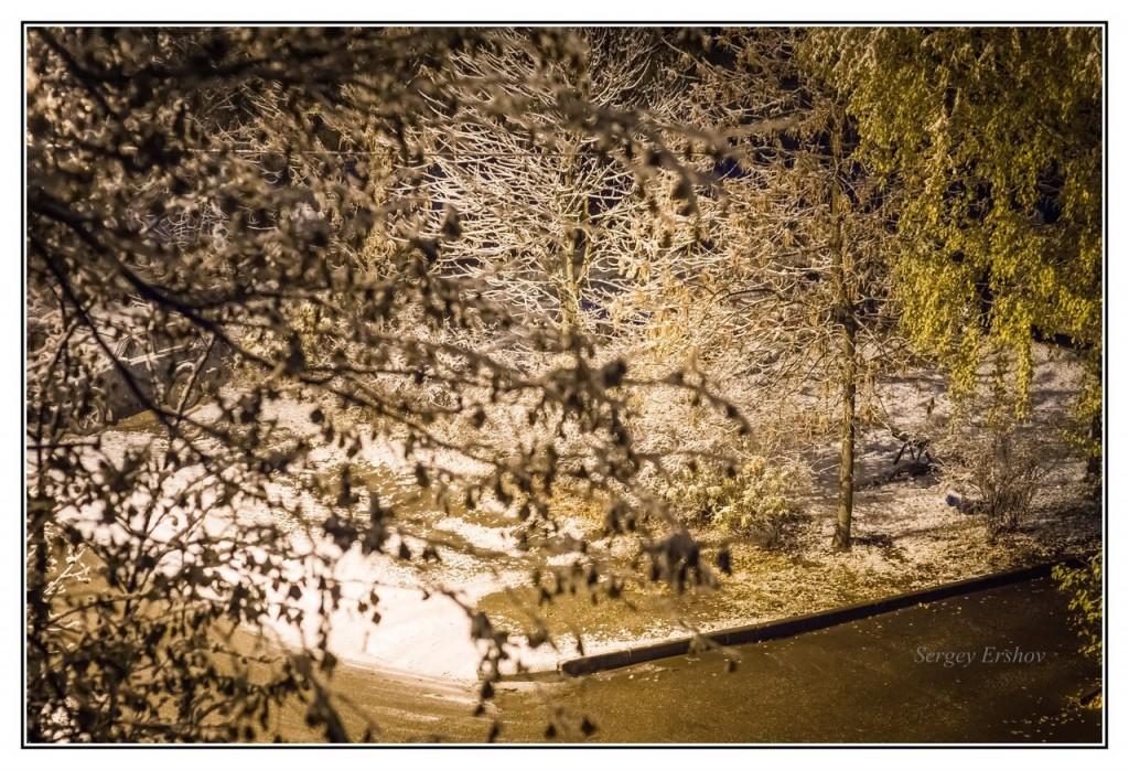 Наступление зимы во Владимире 01