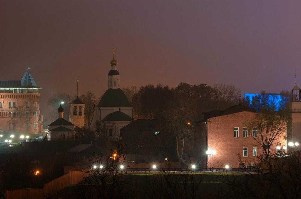 Ночной осенний Владимир 10
