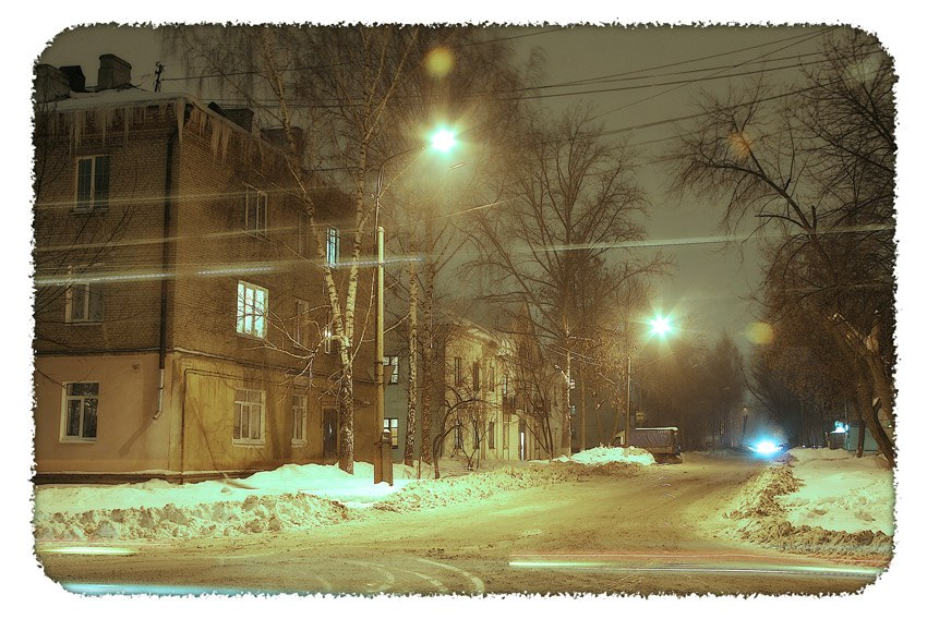 Огни ночного Мурома от Алексея Трифонова