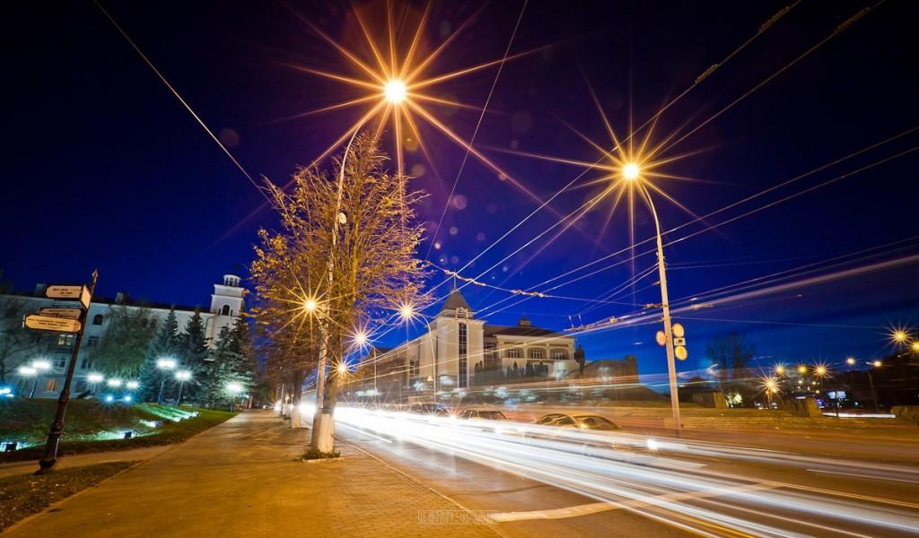 Огни ночного города от Владимира Чучадеева 01