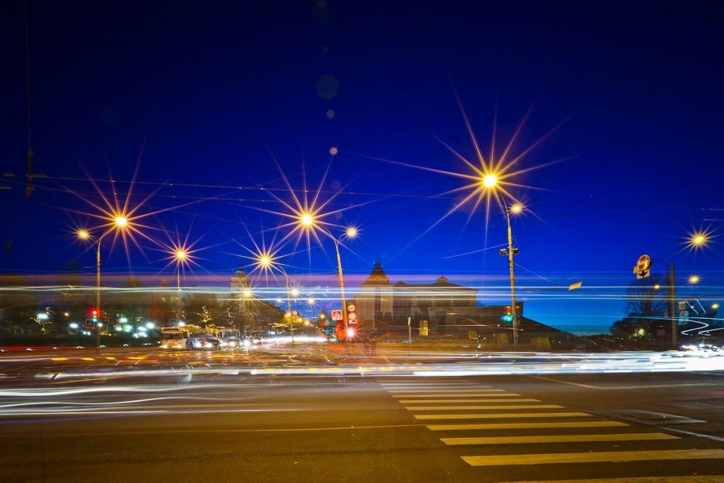 Огни ночного города от Владимира Чучадеева 04