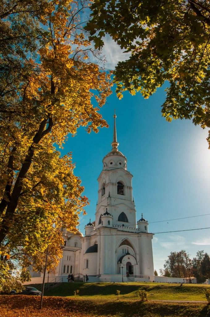 Осенний Парк Пушкина (Владимир) 02