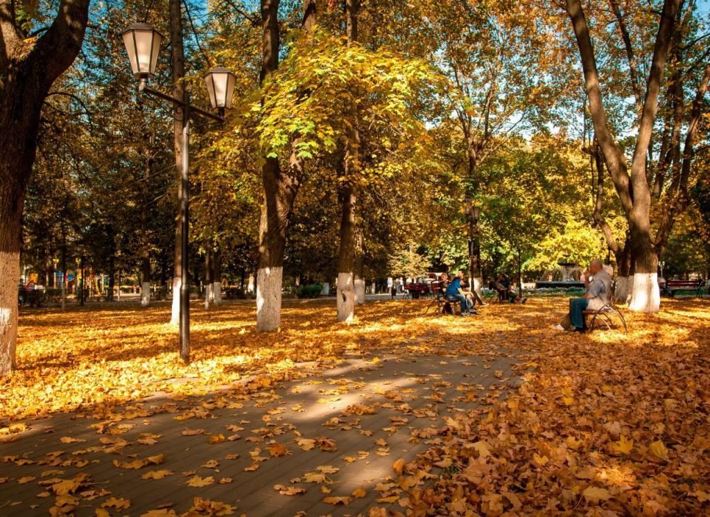 Осенний Парк Пушкина (Владимир) 04