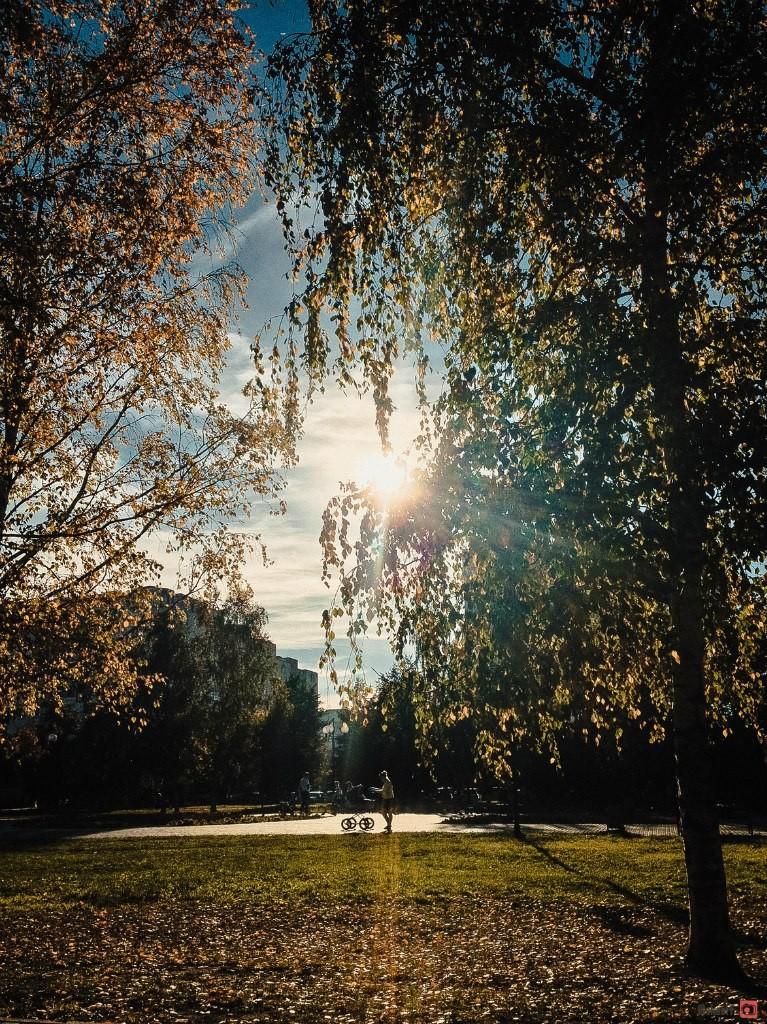Осень в городе. Автор - Александр Макеев 01
