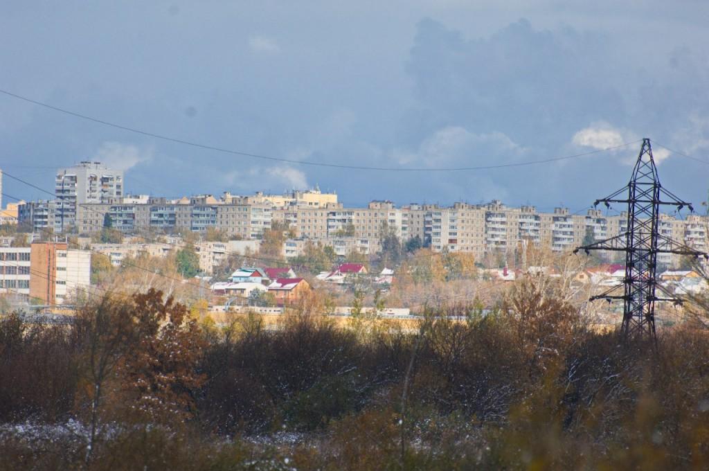 Первый снег во Владимире 02