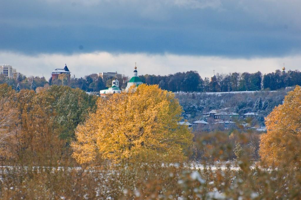 Первый снег во Владимире 05