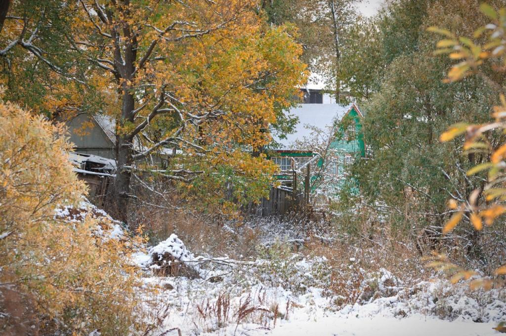Первый снег во Владимире 06