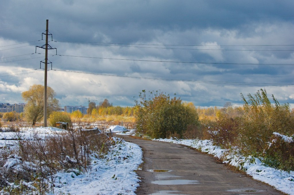 Первый снег во Владимире 10