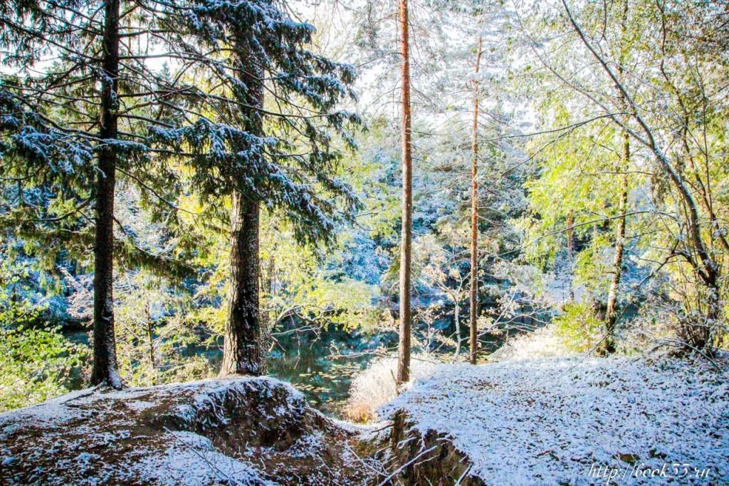 Первый снег на Вербовском 01