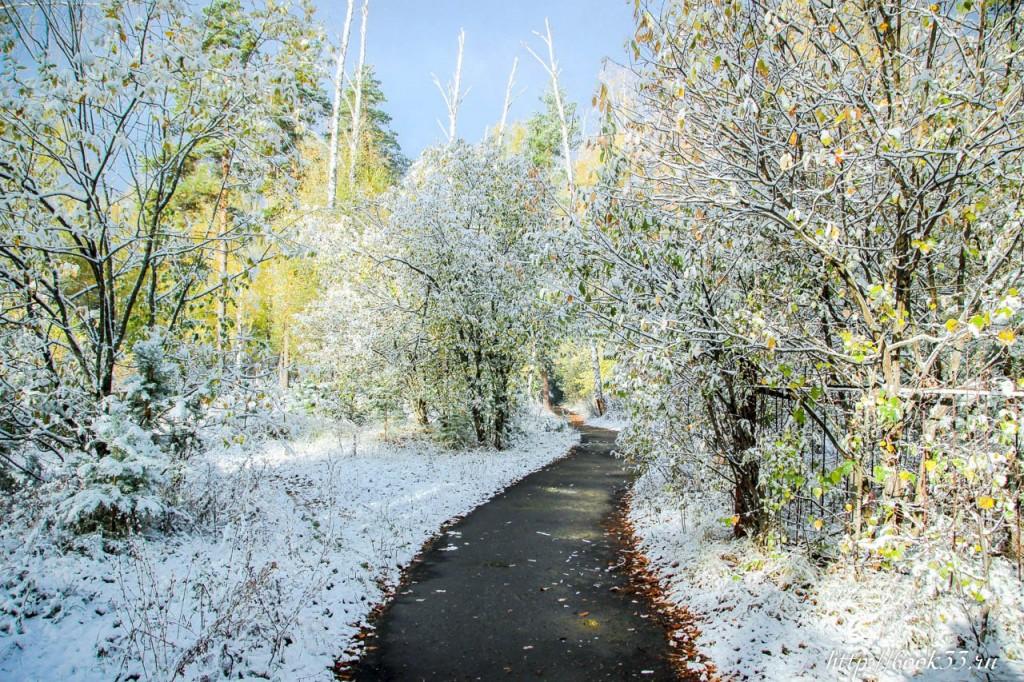 Первый снег на Вербовском 07