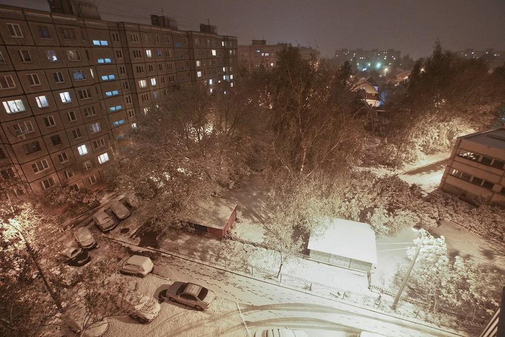 Первый снег на Сергиев День 01