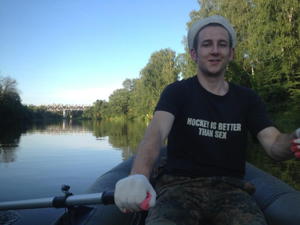 По реке Клязьме 03