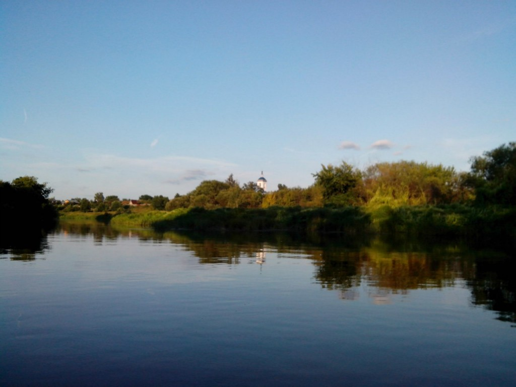 По реке Клязьме 08 д. Войново-Гора