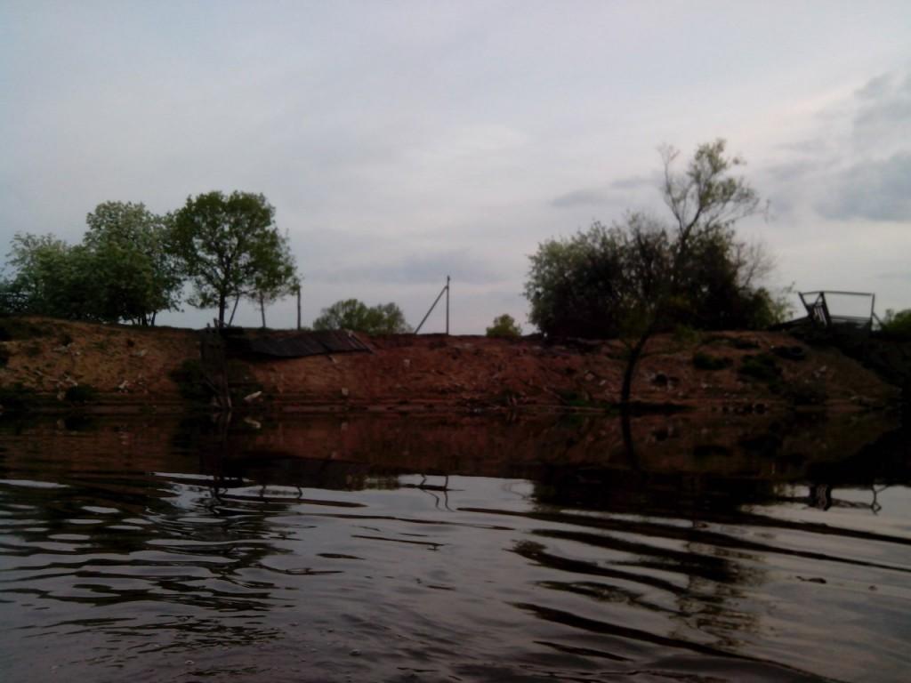 По реке Клязьме 47 На этом месте располагалась лодочная станция.