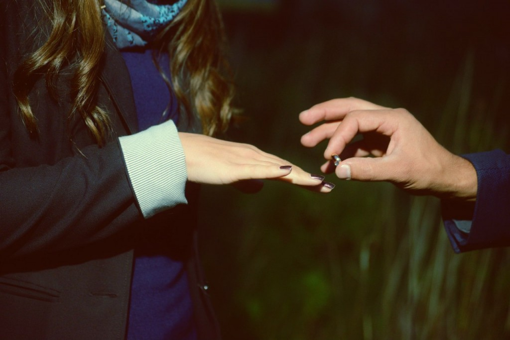 Предложение Руки и сердца в небесах под Суздалем 18