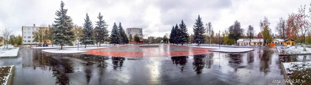 Реконструкция площади Прокуророва завершена