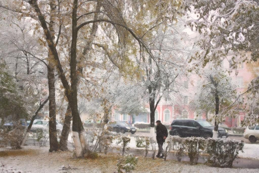 Снежные картины 05