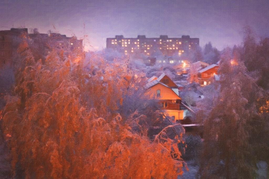 Снежные картины 10