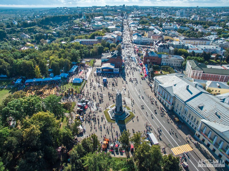 Соборная площадь с высоты от проекта lestni.ca
