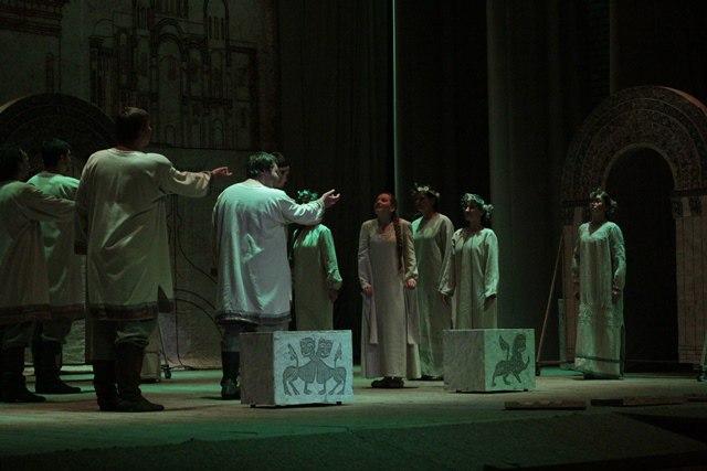 Спектакль Андрей Боголюбский в г. Юрьев-Польский 01