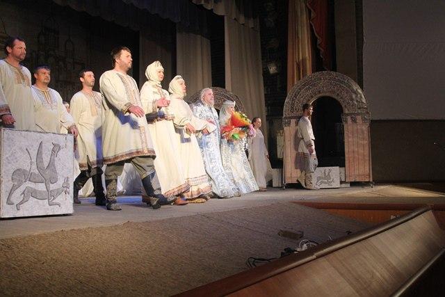 Спектакль Андрей Боголюбский в г. Юрьев-Польский 02