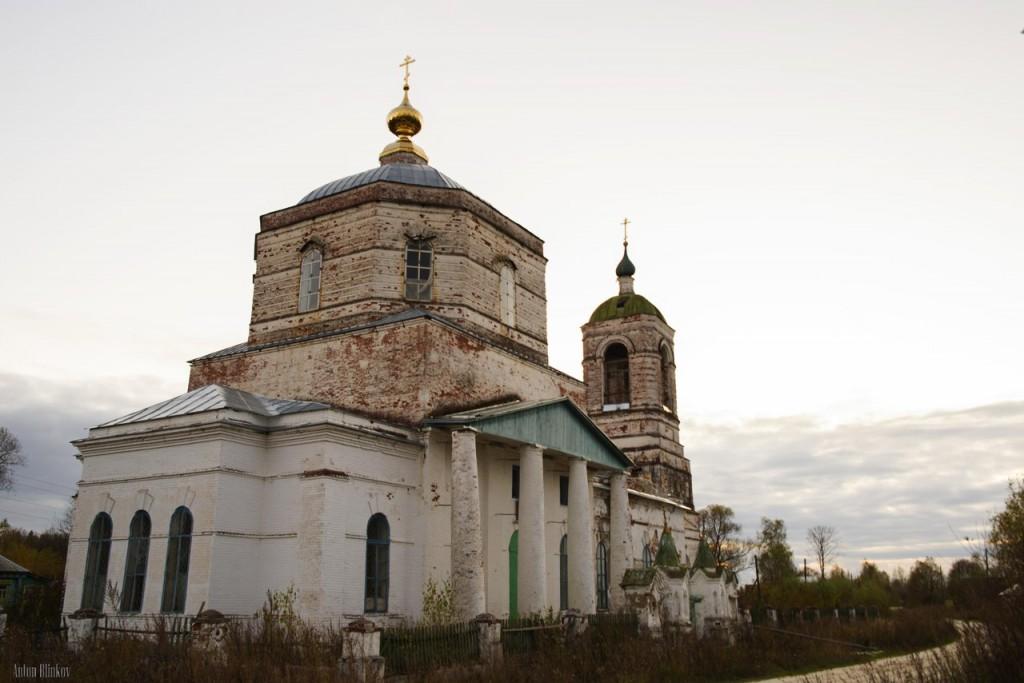 Троицкая церковь, с Заястребье, Судогодский р-н 01
