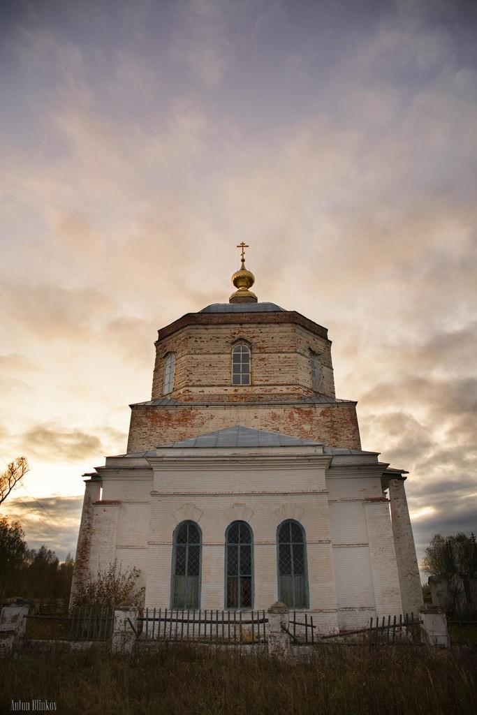 Троицкая церковь, с Заястребье, Судогодский р-н 02