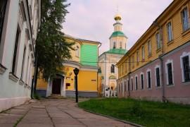 Улица Георгиевская до реставрации