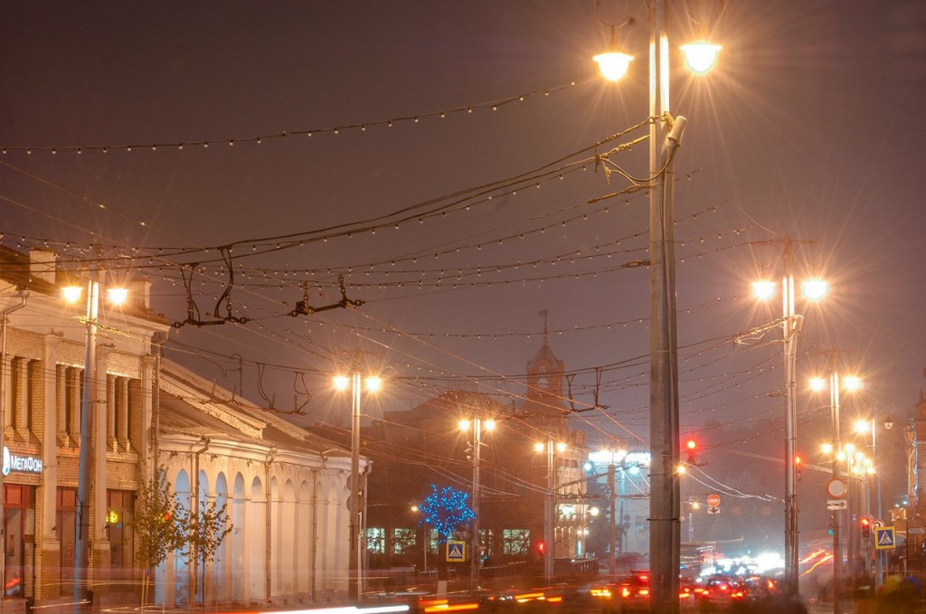 Улицы ночного Владимира осенью 03