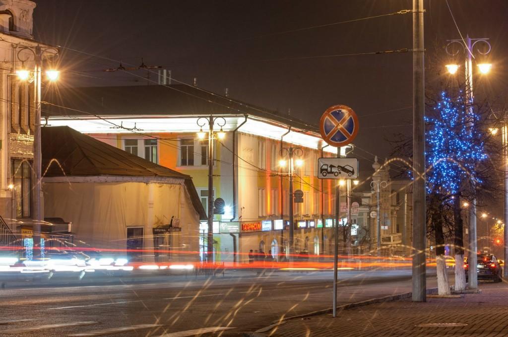Улицы ночного Владимира осенью 05