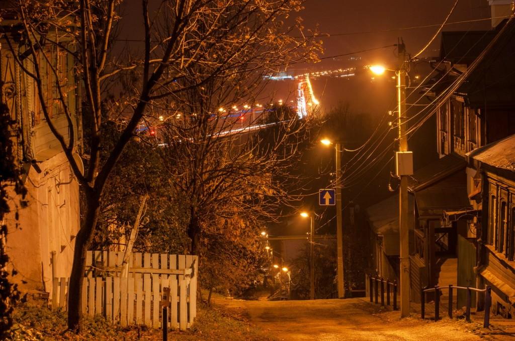Улицы ночного Владимира осенью 07