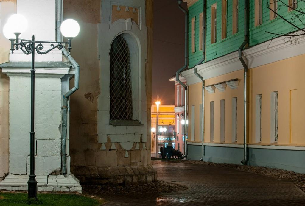Улицы ночного Владимира осенью 08
