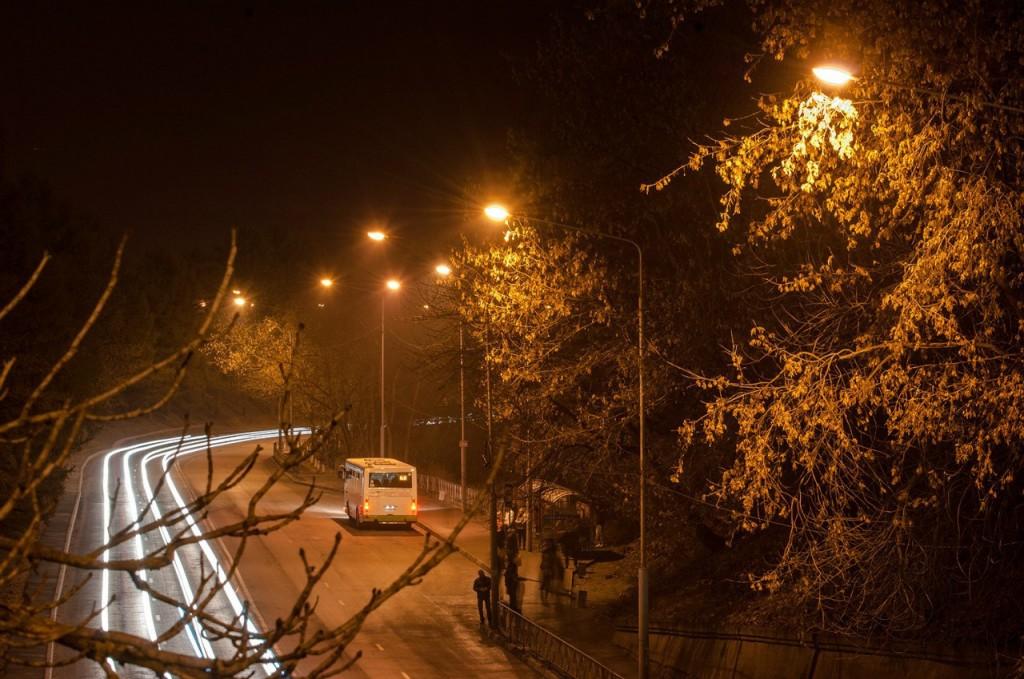 Улицы ночного Владимира осенью 09