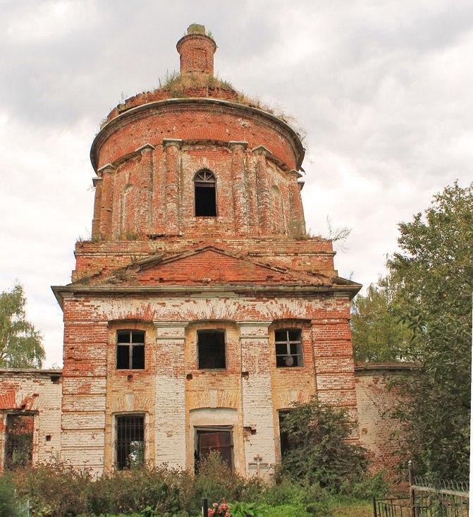 Церковь Воскресения Христова (Суздальский район) 06