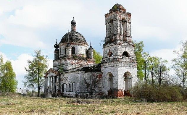 Церковь Казанской иконы Божией Матери (с. Овсянниково, Ковровский район) 03