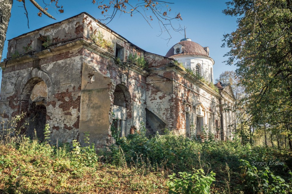Церковь Троицы Живоначальной. Камешковский район, с. Патакино 03