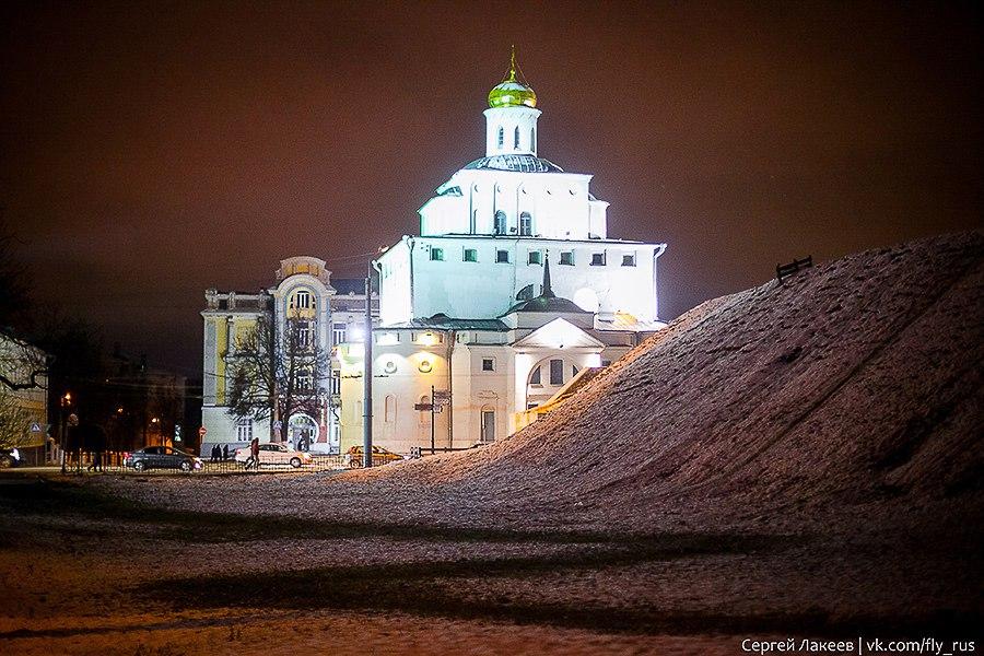 Вечерняя прогулка по Владимиру осенью 01