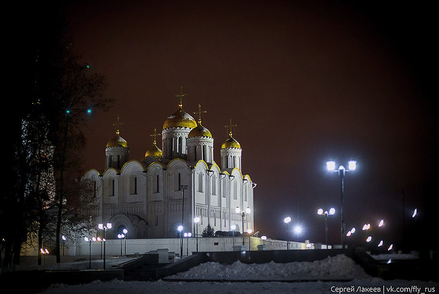 Вечерняя прогулка по Владимиру осенью 02