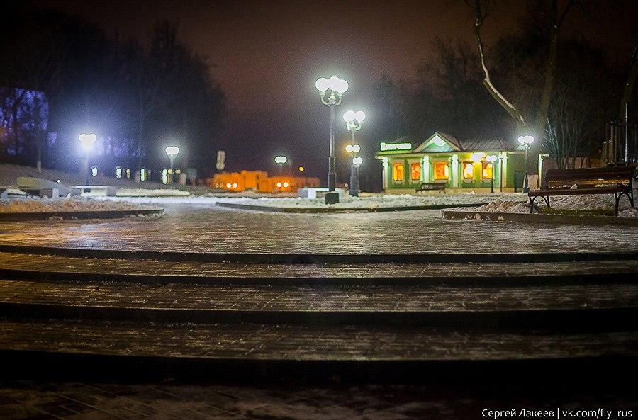 Вечерняя прогулка по Владимиру осенью 07